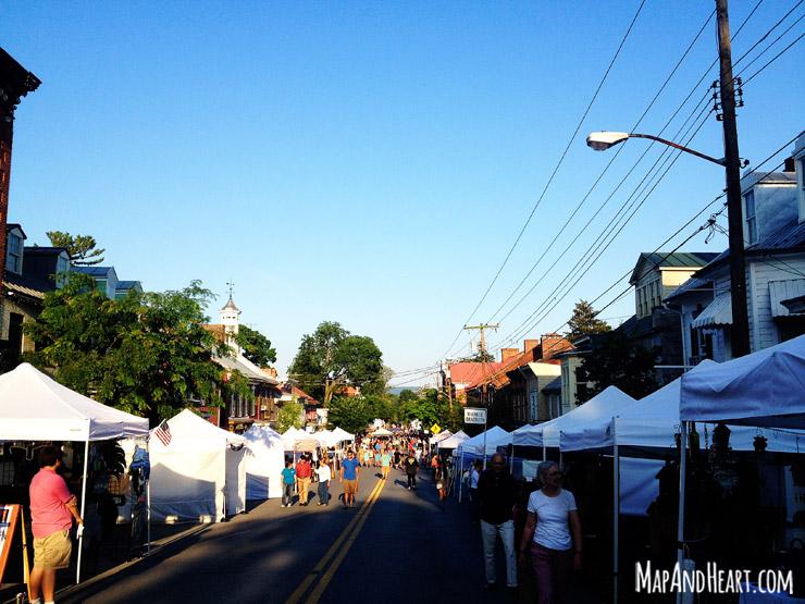 Street Fest   Shepherdstown, WV