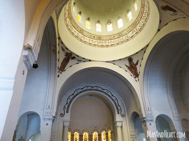 Balata Church Interior
