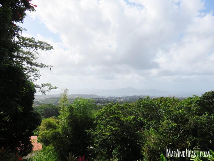 View from Balata Church