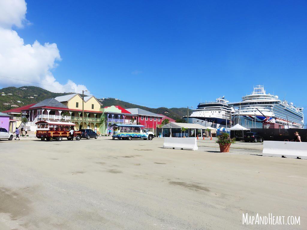 Cruise Pier | Road Town, Tortola