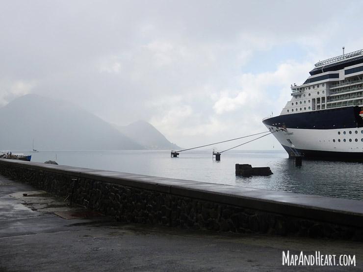Roseau, Dominca Cruise Pier