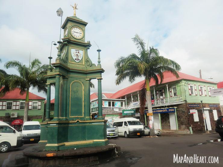 Basseterre, St. Kitts Circus - Berkeley Memorial Clock