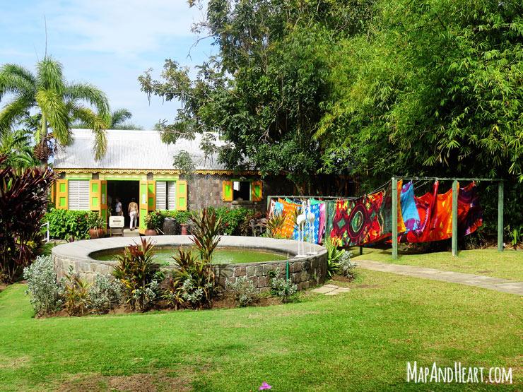 St. Kitts Romney Manor Caribelle Batik