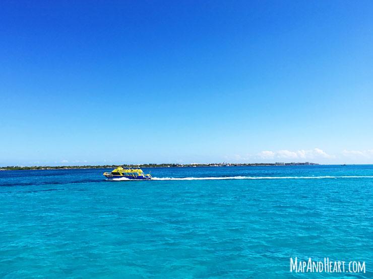 Ferry to Isla Mujeres, Mexico