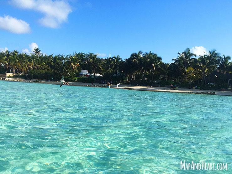 Isla Mujeres, Mexico Playa Norte beach