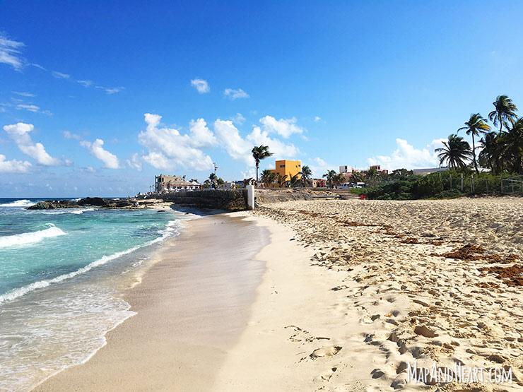 Isla Mujeres, Mexico beach