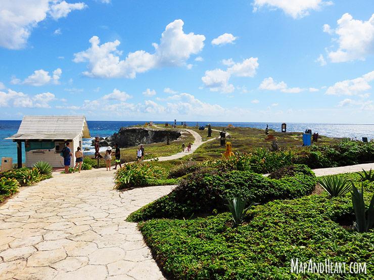 Isla Mujeres, Mexico Punta Sur Sculpture Garden