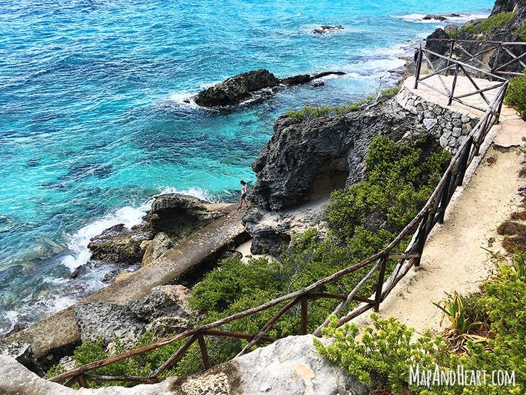 Isla Mujeres, Mexico Punta Sur Walkway